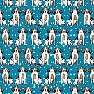Beagle - Knickenten-Hintergrund von Andrea Lauren