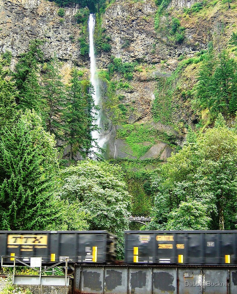 Train Passing by Debbie Buckner