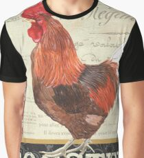 Country Rooster 2 Graphic T-Shirt