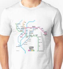 Lyon Metro Network Unisex T-Shirt