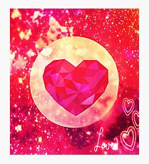 Sparkly Passion Photographic Print