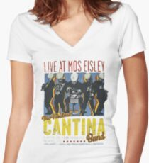 Star Wars - Cantina Band On Tour Women's Fitted V-Neck T-Shirt