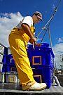 Fisherman at Bermagui by Darren Stones
