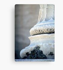 Ionic Pillar Canvas Print