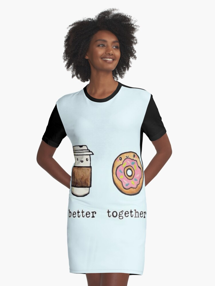 5372332cb Kawaii Better Together / Coffee Donut