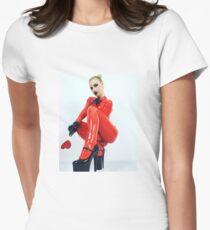 Miss Beyla Hughes Latex Leder PVC Model Cosplay  T-Shirt