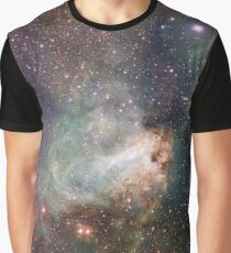star-forming region Messier 17 Graphic T-Shirt