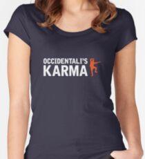Francesco Gabbani - Occidentali's Karma [2017, Italy] Women's Fitted Scoop T-Shirt