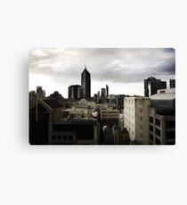 Melbourne buildings Canvas Print
