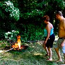 building a fire by esantos