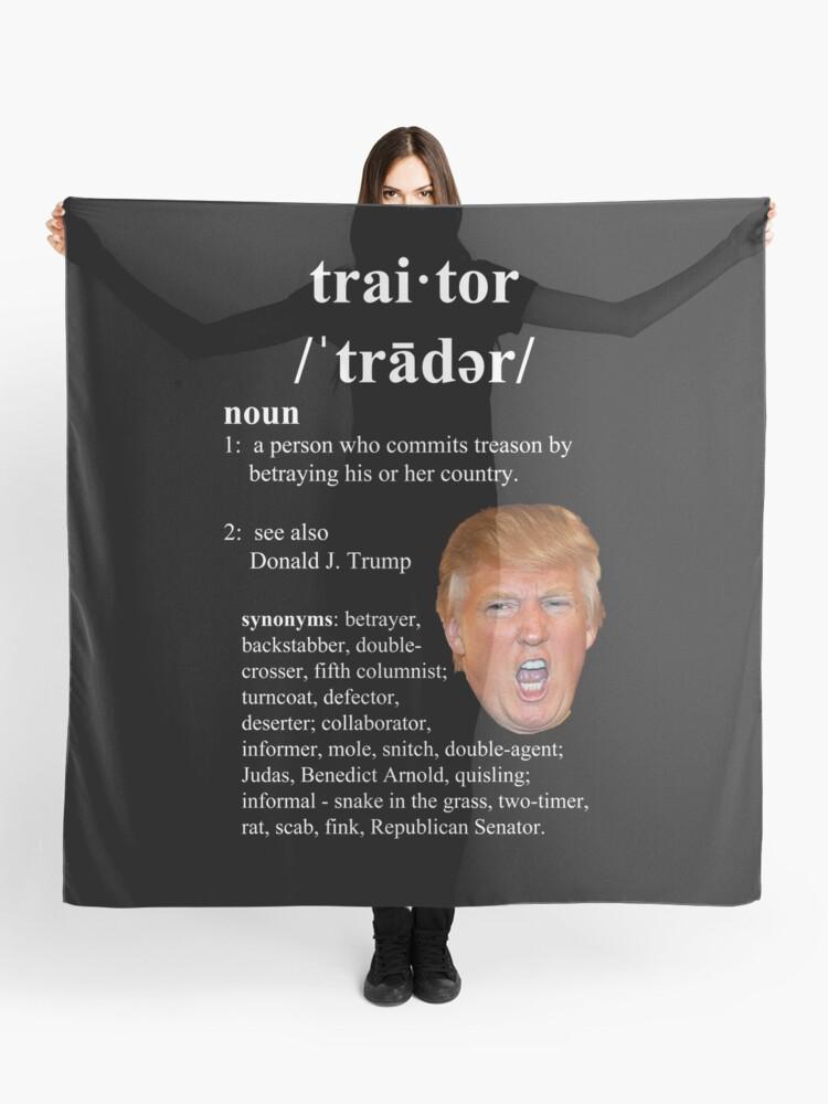 Traitor tRUMP | Scarf