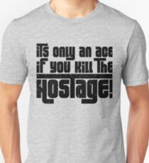 Hostage Ace #1 - Black Gritty T-Shirt