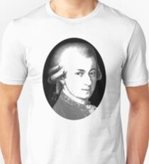 The genius Wolfgang Amadeus Mozart Unisex T-Shirt