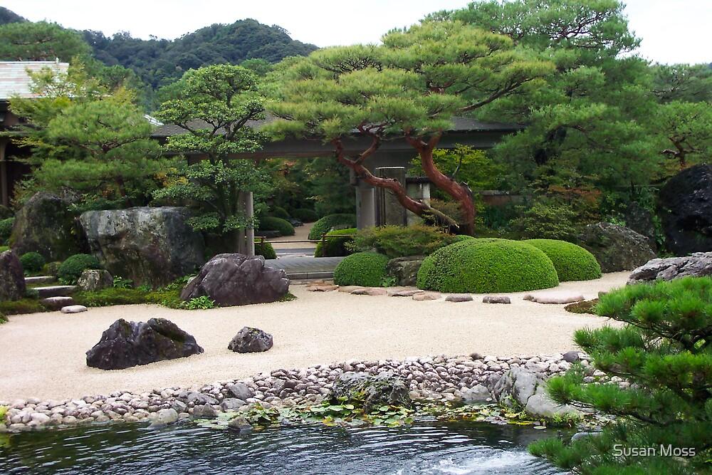 Peaceful garden by Susan Moss