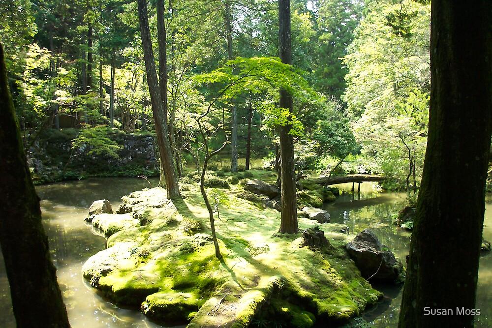 Tranquil Garden by Susan Moss