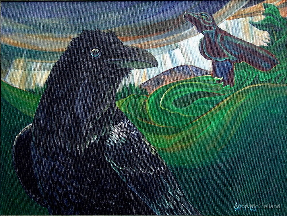 Big Raven Dream by Anne McClelland