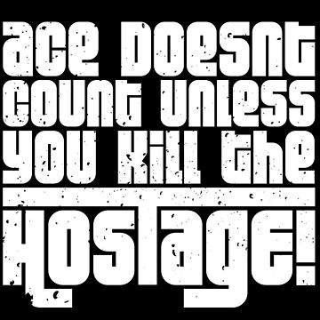 Hostage Ace #2 - White Gritty [Roufxis] by RoufXis