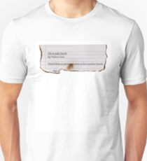 Cavorite Recipe T-Shirt