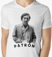 Pablo Escobar | The boss Men's V-Neck T-Shirt