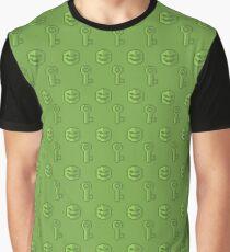 Mask&Key  Graphic T-Shirt