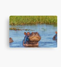 A Little Smooch Canvas Print