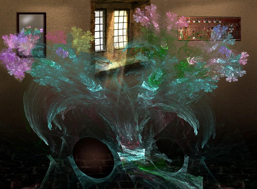 Transparent Floral by dduhaime55