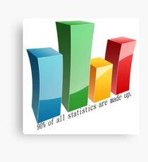 Statistics Canvas Print