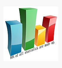 Statistics Photographic Print