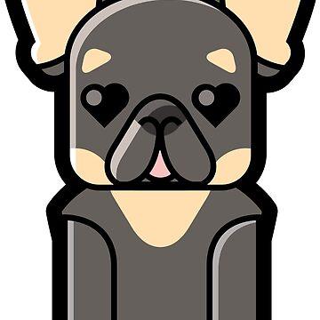 Monty the French Bulldog by mpriorpfeifer