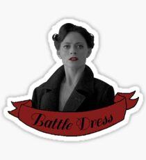 'Battle Dress' - Irene Adler Sticker