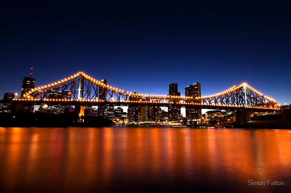 Brisbane's Story Bridge by Simon Fallon