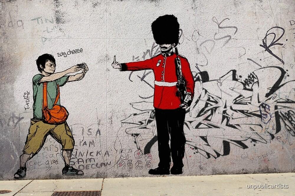 Urban Wall Art middle finger street art london urban wall graffiti artist