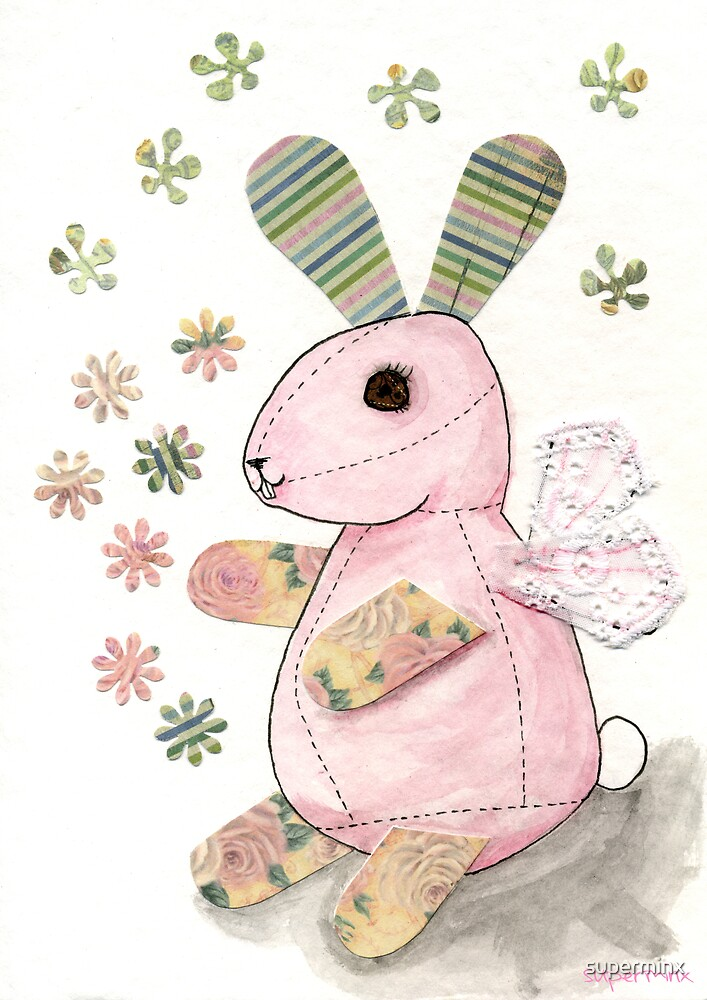 Shabby Bunny by superminx
