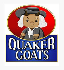 Quaker Goats!  Photographic Print