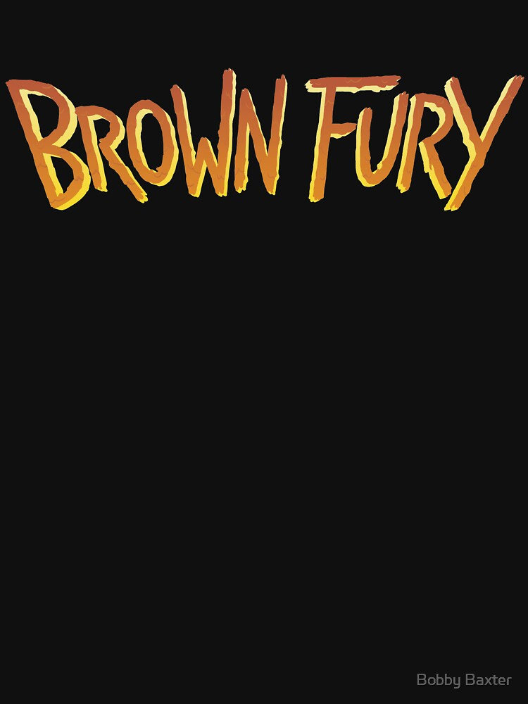 Brown Fury - Logo (Light) by BobbyBaxter