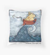 Hydrophobia Throw Pillow
