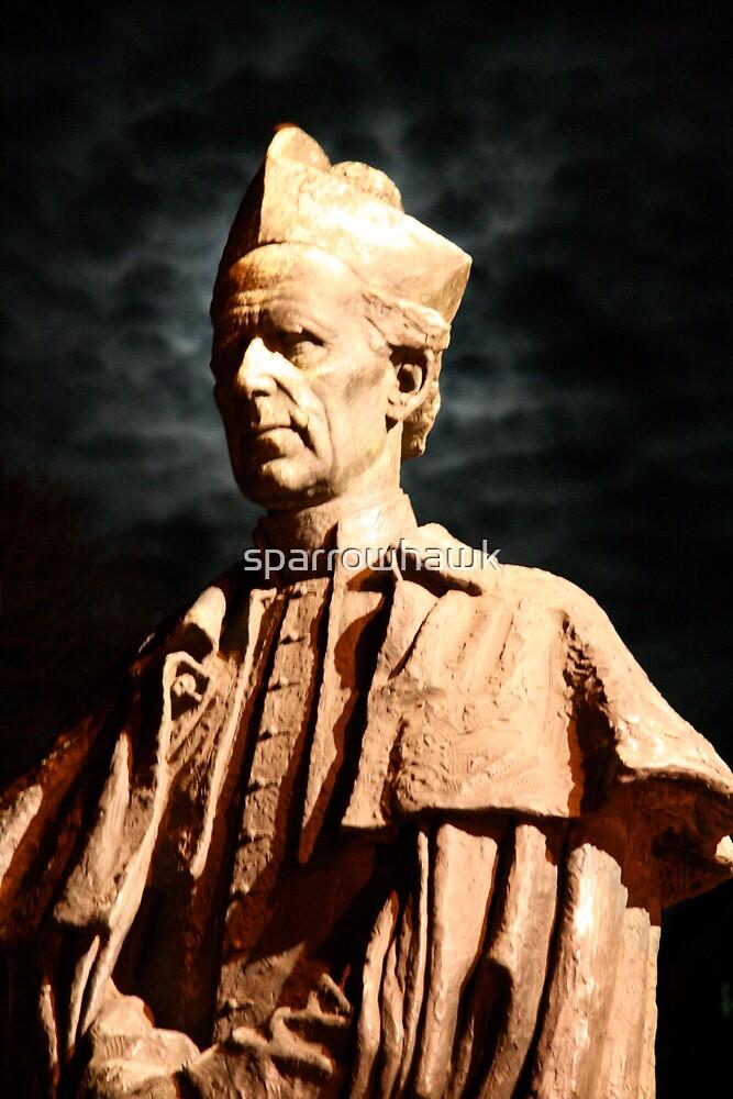 Archbishop Mannix - St Patrick's Cathedral Melbourne by sparrowhawk