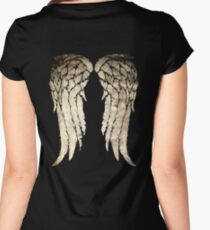 Daryl Dixon's Zombie Wings Women's Fitted Scoop T-Shirt