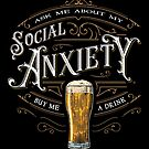 Social Anxiety by barrettbiggers