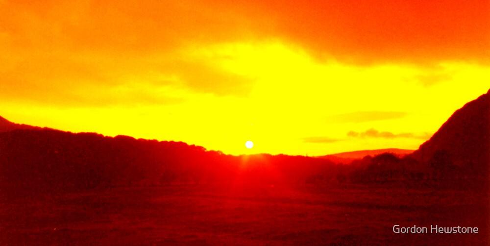 Gwern Eithern Sunset by Gordon Hewstone