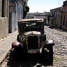 colonial street  by uruguayan