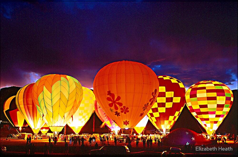 Balloon Glow by Elizabeth Heath