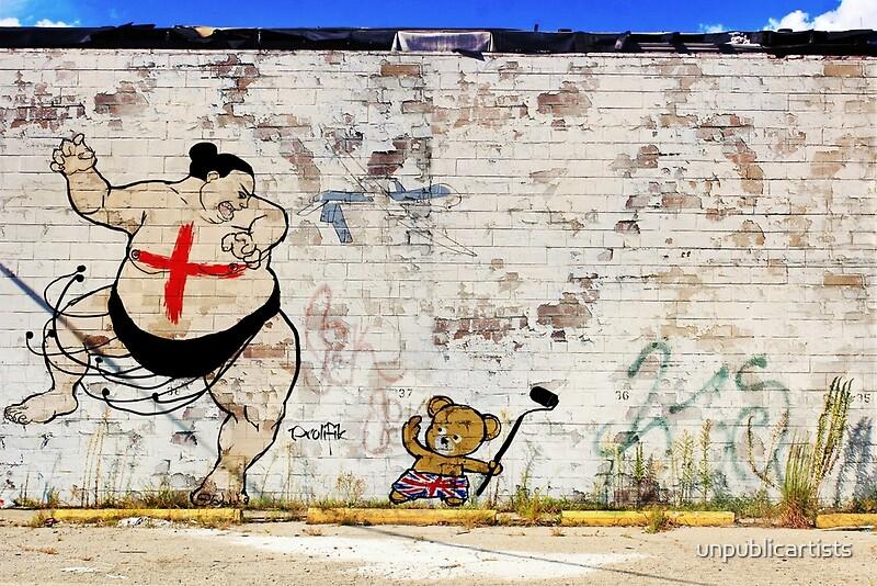 Urban Wall Art chinese takeout street art london urban wall graffiti artist