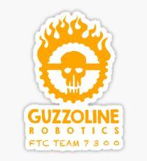 Guzzoline Robotics - Orange Sticker