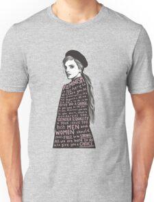 Emma Watson Feminism Graphic Unisex T-Shirt