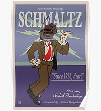 Schmaltz - The Radio Cool Cat Poster
