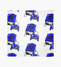 Electric Blue Game Cube Scarf