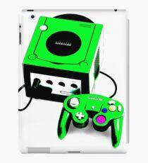 Electric Green Game Cube iPad Case/Skin