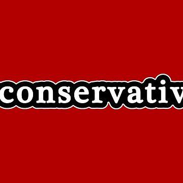 Conservador - Hashtag - Blanco y negro de graphix