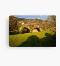 Ulpha, Lake District Canvas Print